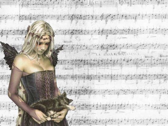 La musique et les chats